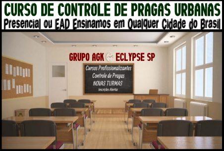 Escola Curso Dedetização Brasil-11-4553-9516